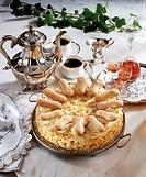 Malakow cream cake, Austria, recipe available for a fee