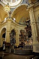 Interior of the Church of San Francisco el Nuevo, historic city centre of Havana, Habana Vieja, Cuba, Greater Antilles, Caribbean, Central America, Am...