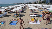 The Black Sea, Bulgaria, is a popular tourist destination for Bulgarians, Russians and British people. There is heath, sun, sea More and more hotels a...