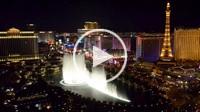 Fountain at the Bellagio hotel, Las Vegas, Nevada, USA