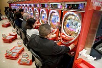 Japanese people are addicted to gambling  All over the big cities Tokyo one can find the huge gambling houses where people spend hours and loose enorm...