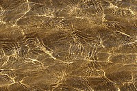 Close Up Of Sand Beneath Water
