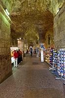 Historic town centre, under Diocletian's Palace, Split, Central Dalmatia, Dalmatia, Adriatic coast, Croatia, Europe