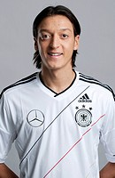 Mesut Oezil, at the official portrait photo session of the German men's national football team, on 14.11.2011, Hamburg, Germany, Europe