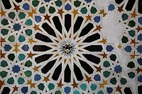 Decoration of mosaic tiles