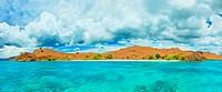 The Red beach panorama