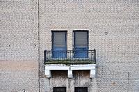 Wall and balcony