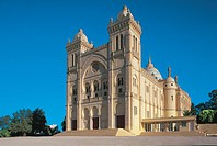 Tunisia - Carthage - Byrsa hill. St. Louis cathedral