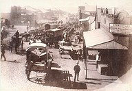 View of Johannesburg, 1888, South Africa 19th century.