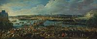 View Of Rouen, by Jean Baptiste Martin, France 17th Century.  Rouen, Musée Des Beaux-Arts (Picture Gallery)