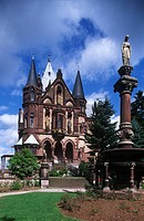 Germany - North Rhine-Westphalia (Nordrhein-Westfalen) - Rhine Valley - Konigswinter - Castle Drachenburg, 1879-1884.