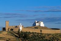 Portugal - Alentejo - Evora - Arraiolos castle, 14th century