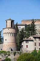 medieval fortress, castrocaro terme, emilia romagna, italy, europe