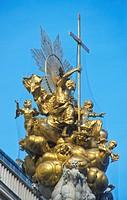 Plague column at Graben, Vienna, Austria
