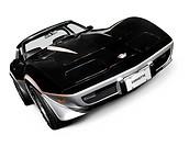 Black 1978 Chevrolet Corvette C3 Coupe sports car