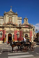 St. Paul´s Church and Grotto, Rabat, Malta, Europe