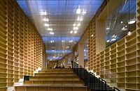 MUSASHINO ART UNIVERSITY LIBRARY, SOU FUJIMOTO ARCHITECTS, TOKYO_MAIN STAIR CASE,LIBRARY, Architect