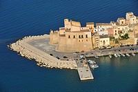 Italy, Sicily, Castellammare del Golfo ...