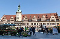 Altes Rathaus, old city hall, Leipzig, Saxony, Germany, Europe