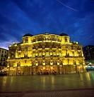 Arriaga Theater. Arenal Square. Bilbao. Bilbo. Bizkaia. Vizcaya. Pais Vasco. Euskadi. Basque Country. Spain.