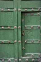 Details of a door in Plaza De Las Nazarenas, Cuzco, Peru