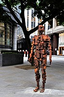 Modern sculpture and architecture, London, England, United Kingdom, Europe