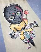 Urban graffiti.