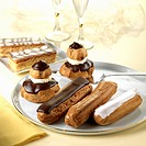 Éclairs, Religieuses and Mille_feuilles
