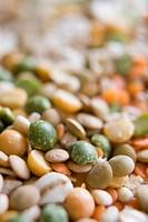 Lentil, pea, barley mix