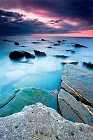 Beach of Barrika, Bizkaia, Basque Country, Spain
