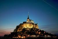 Mount St-Michel, Normandie, France