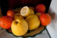 Citrus fruit and apples
