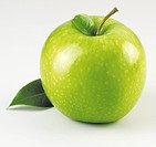 Single Green Apple With Apples - Non Exclusive