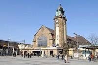 Main railway station, Hauptbahnhof, Hagen, Nordrhein_Westfalen, North Rhine_Westphalia, Deutschland, Germany