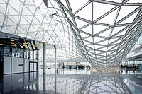 My Zeil shopping centre, by architect Massimiliano Fuksas, Frankfurt, Hesse, Germany, Europe