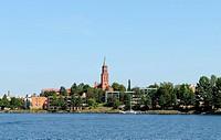 Savonlinna ist eine gemütliche Kleinstadt im Saimaa_Seengebiet / Savonlinna is a famous city in the region of Lake Saimaa in Finland