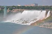 Niagara Falls at the border of USA and Canada
