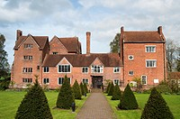 Harvington Hall, a moated medieval and Elizabethan manor-house in the English Midlands