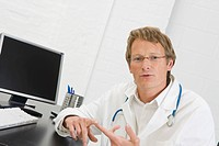 Germany, Doctor in clinic, portrait