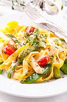 Pasta with vegetable