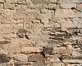 Old rendered stone wall, PublicGround