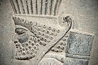Persian archer relief, Persepolis, Shiraz, Iran
