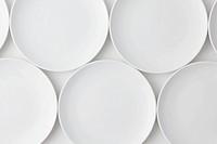 Arrangement Of Empty Plates