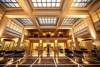 Interiors of Meiji Yasuda Life Insurance Building, My Plaza Shopping Complex, Marunouchi Naka_Dori Street, Marunouchi, Tokyo, Japan