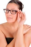 Designer glasses _ successful businesswoman