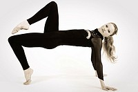 Portrait of woman  Athlete of rhythmic dance