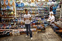 tourist shops in the grand bazaar, istanbul