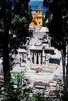 Medieval cemetery n Nice, France
