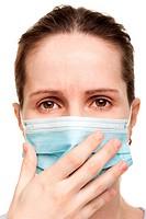 Women in medicine mask