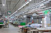 hongkong indoor market building closed